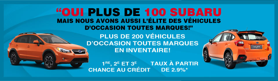Promotions Rive-Nord